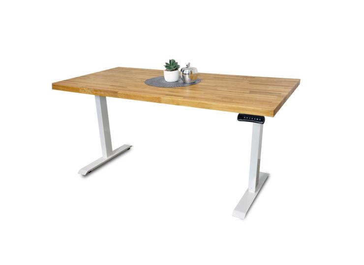 biurko loft białe