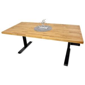 biurko loft czarne