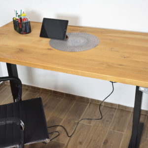 biurko drewniany blat